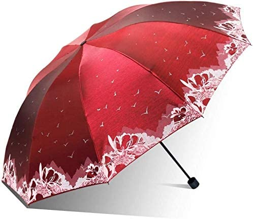 ASDF Folding Umbrellas Clear Umbrella Dual-use Folding Oversized Double Ten Bone Reinforcement   Sunscreen UV Protection Sun Umbrella
