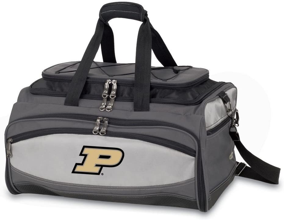 Picnic Time Buccaneer Purdue University Boilermakers NCAA Digital Print BBQ Grill