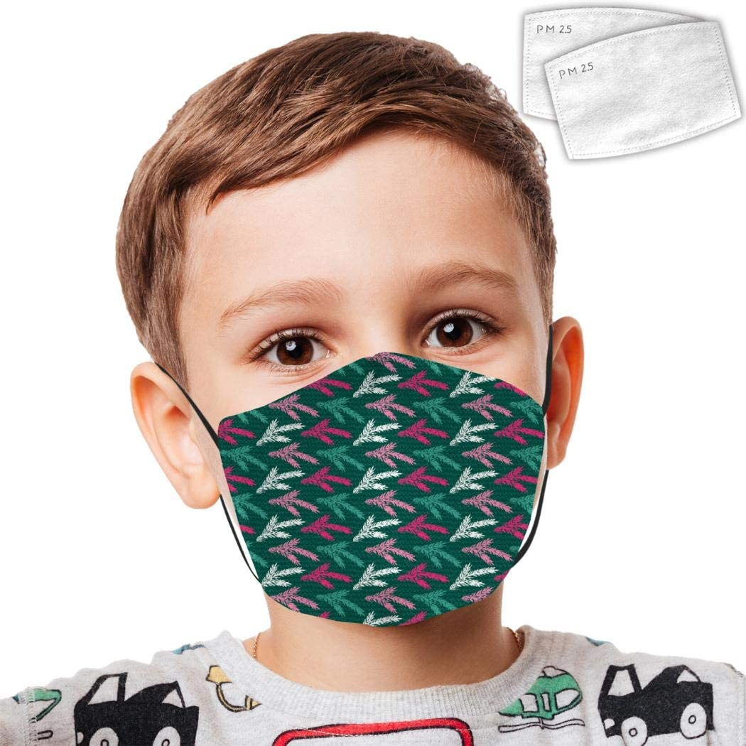 Protective Bandanas Cat Anti-Dust Mouth Washable Reusable Windproof Boys Girls Kids