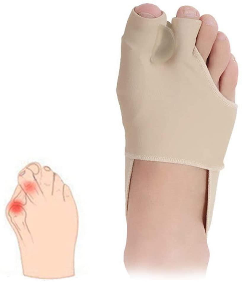 Bunion Corrector, Bunion Relief Orthopedic Sleeve Socks, Big Joint Tailors Toe Separators Spacers Straighteners for Hallux Valgus Foot Pain