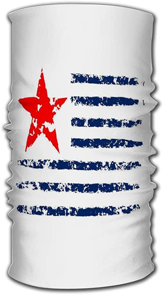 YILINGER Sports Headband American Flag Grunge Independence Day Celebration Patriotic Magic Headwear