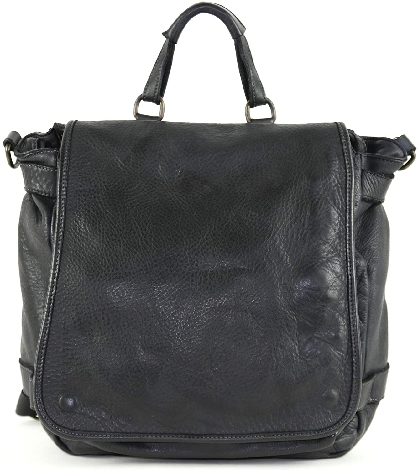 DDMilano Genuine Italian Leather Backpack for Men and Women