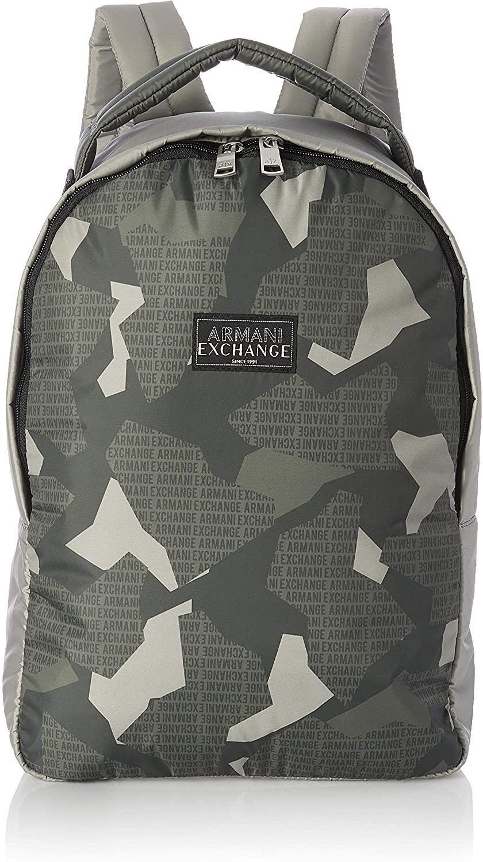 AX Armani Exchange Men's All Over Print Nylon Backpack