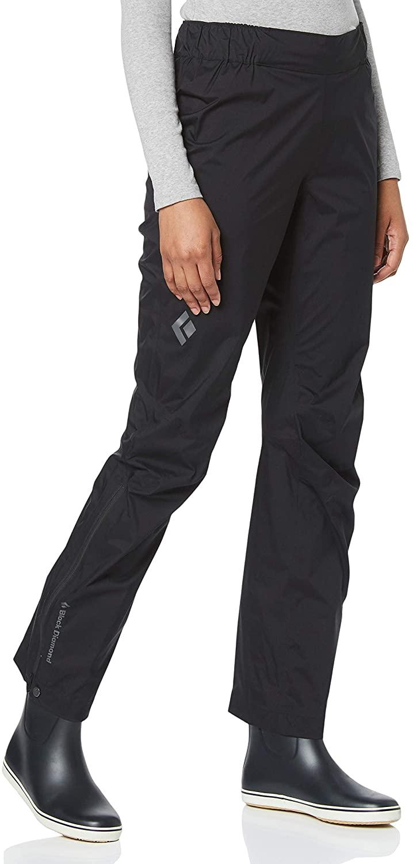 Black Diamond Womens Stormline Stretch Rain Pants