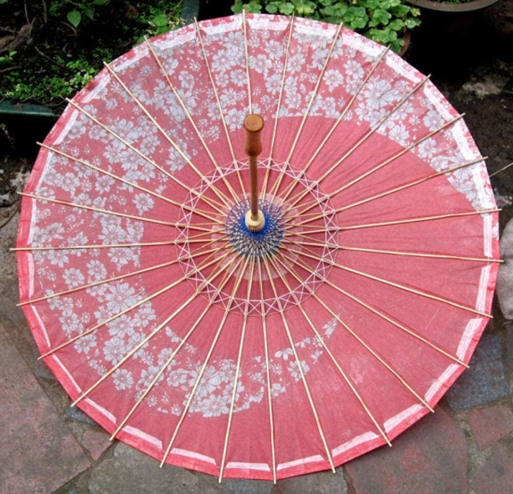 ASDF Stick Umbrellas Wedding Décor Decorative Home Accessories Oil Paper Umbrella Rainproof Sunscreen Dance Decoration