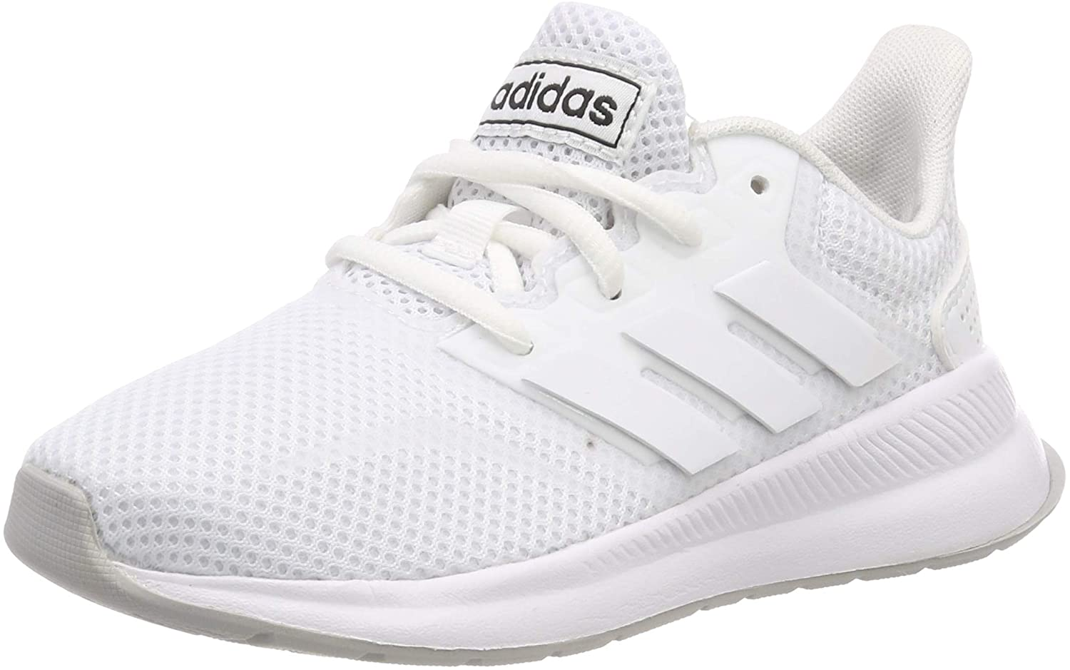 adidas Unisex Kid's Falcon K Running Shoes, White (Ftwr White/Grey Two F17), 12.5K UK Child (31 EU)