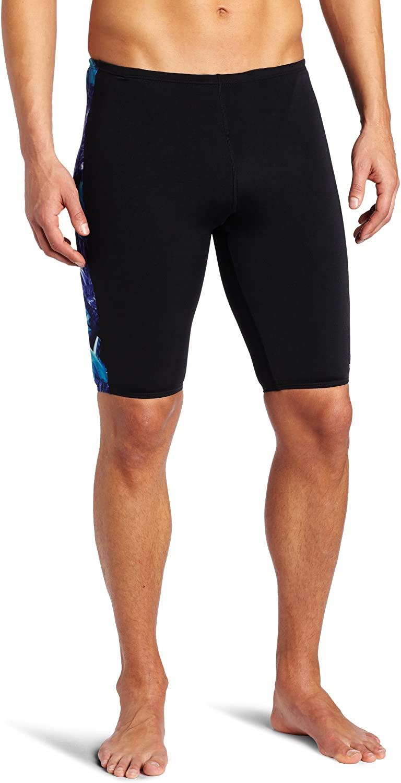 TYR Sport Men's Firerock Splice Jammer Swim Suit