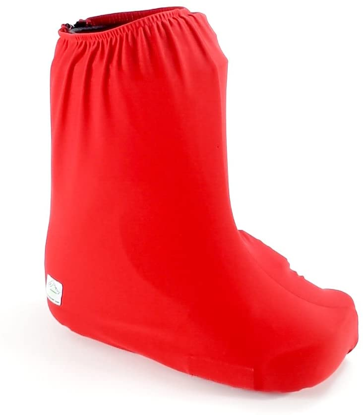 My Recovers Walking Brace Cover, Fashion Cover in Red, Short Boot, Made in USA, Orthopedic Products Accessories (Medium)