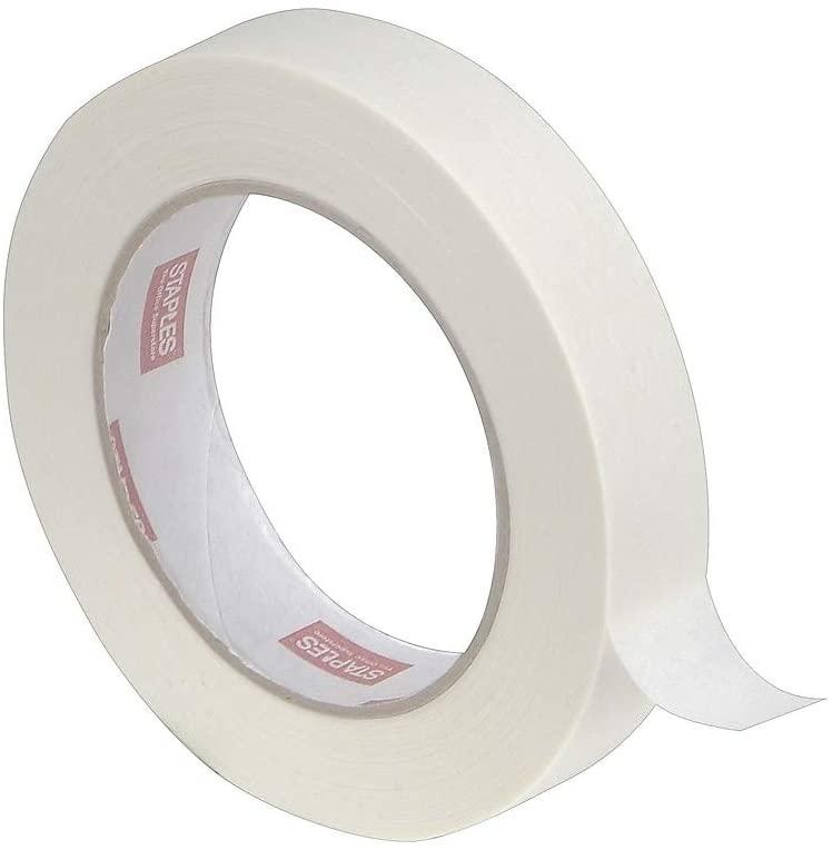 Staples 815038 Masking Tape 3/4-Inch X 60 Yards 6/Pk