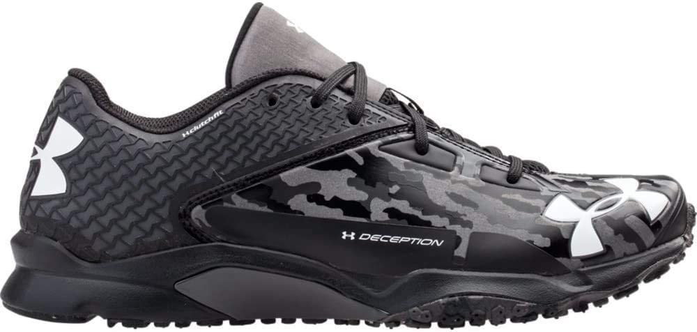 Under Armour Mens Deception Trainers 8 1/2 US Black/Black