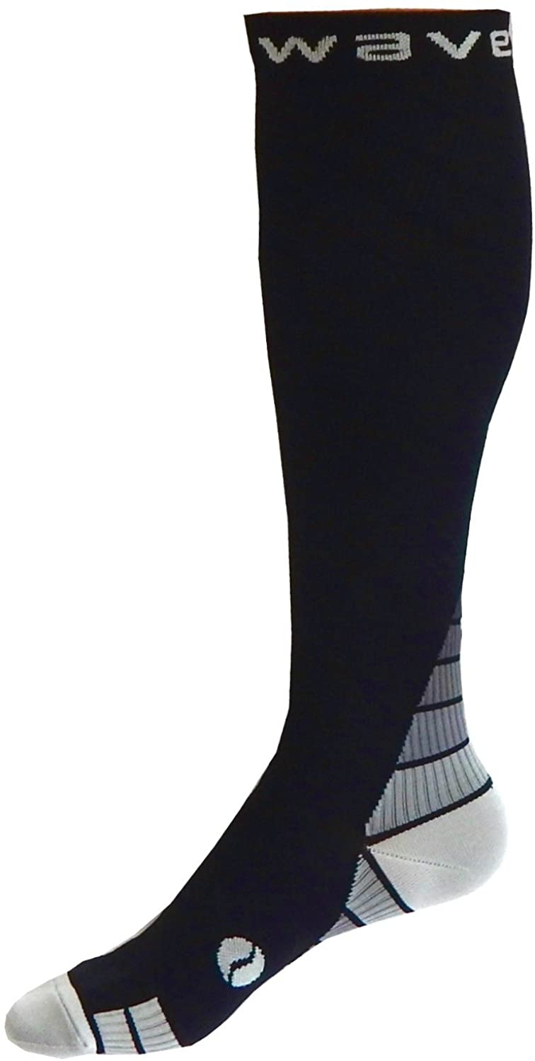 Compression Socks Women & Men 20-30mmhg by Wave