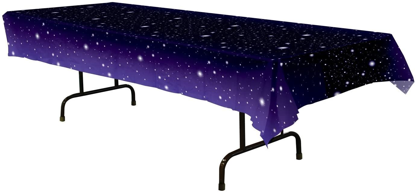 Starry Night Tablecover Party Accessory (1 Count) (1/pkg) Pkg/3