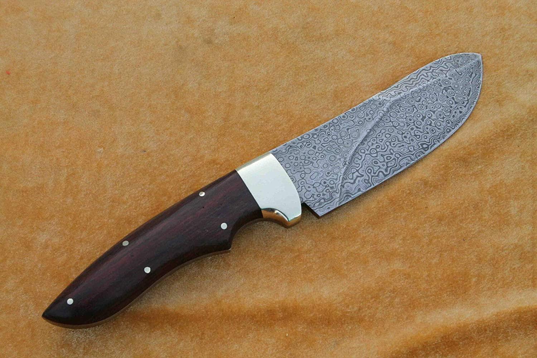 Buddha4all Damascus Dagger Custom Hand Made Damascus Steel Blade Gorgeous Hunting Knife B4UDSK030