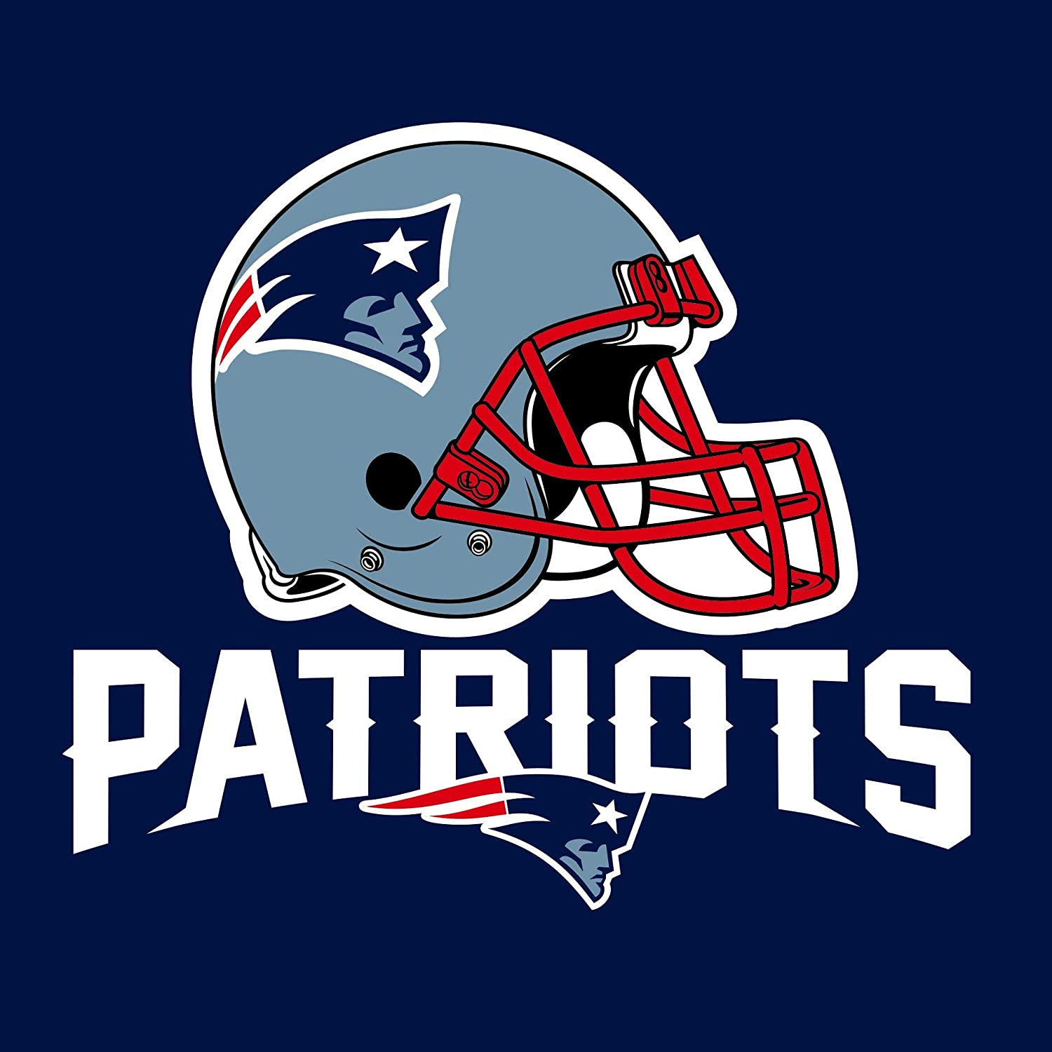 16-Count Paper Lunch Napkins, New England Patriots