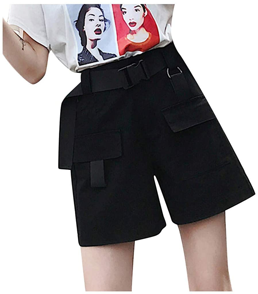 Centory Womens Quick Dry Cargo Shorts,Outdoor Casual Straight Leg Capri Long Shorts for Hiking Camping Travel