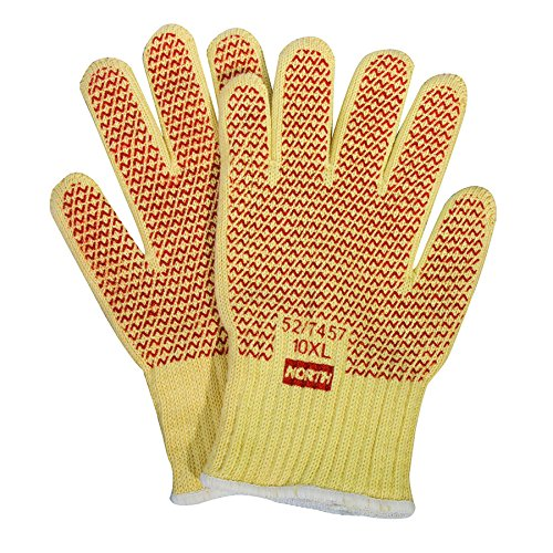North Grip N Hot Mill Heavyweight Knit Gloves with Nitrile N-Coating