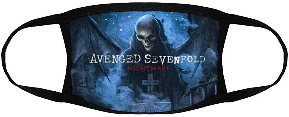 Twodances Child Mask Outdoor Balaclava Scarf Cap Avenged Sevenfold Face Mask Bandana for Kids