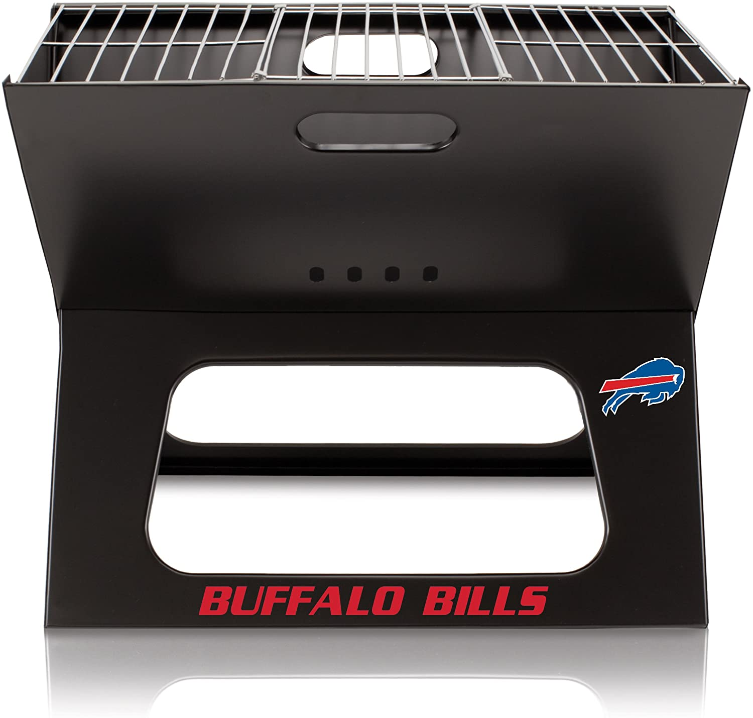 NFL Buffalo Bills Portable Collapsible Charcoal X-Grill
