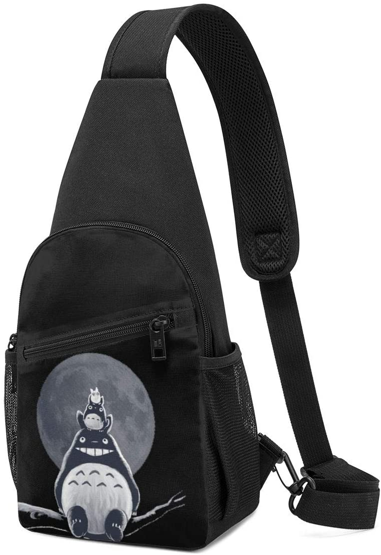 N/C My Neighbor Totoro Sling Bag Chest Bag Shoulder Backpack Cross Body Travel
