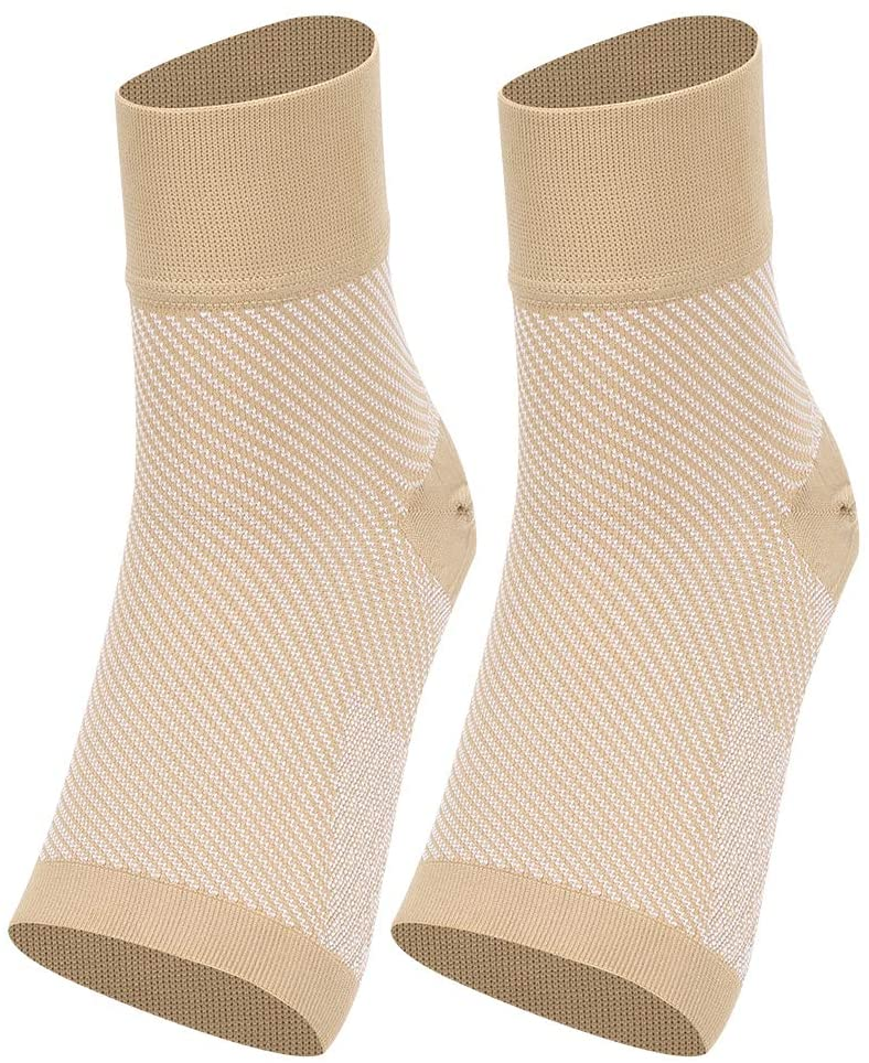 Ankle Brace Comfortable Ankle Compression Sleeve Arch Support Compression Foot Sleeve for Sports