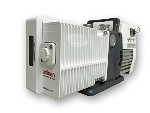 Pfeiffer / Adixen 2021SD 14.6 CFM Two-Stage Rotary Vane Vacuum Pump