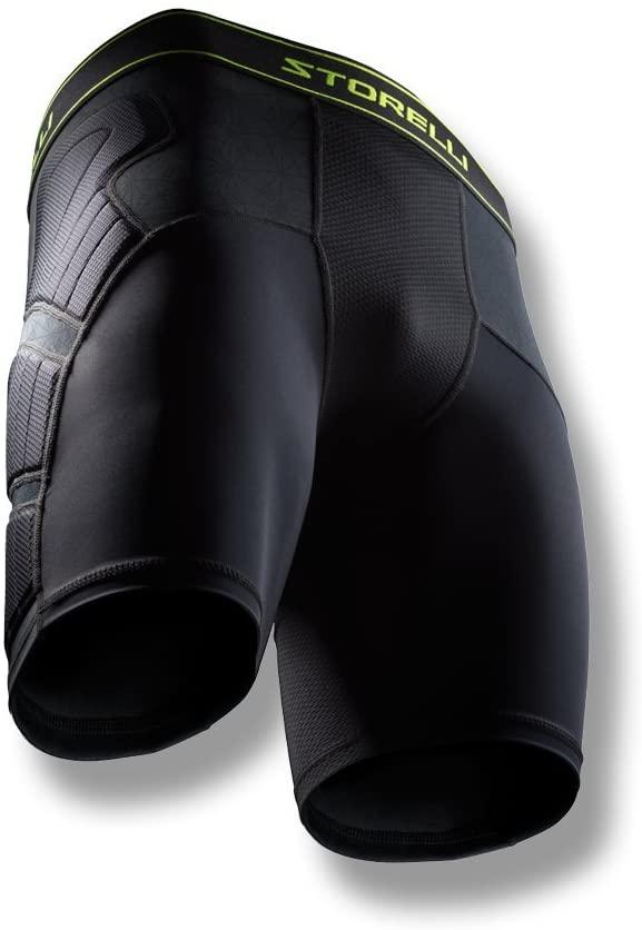 Storelli Unisex BodyShield Impact Sliders | Padded Soccer Sliding Undershorts | Enhanced Lower Body Protection