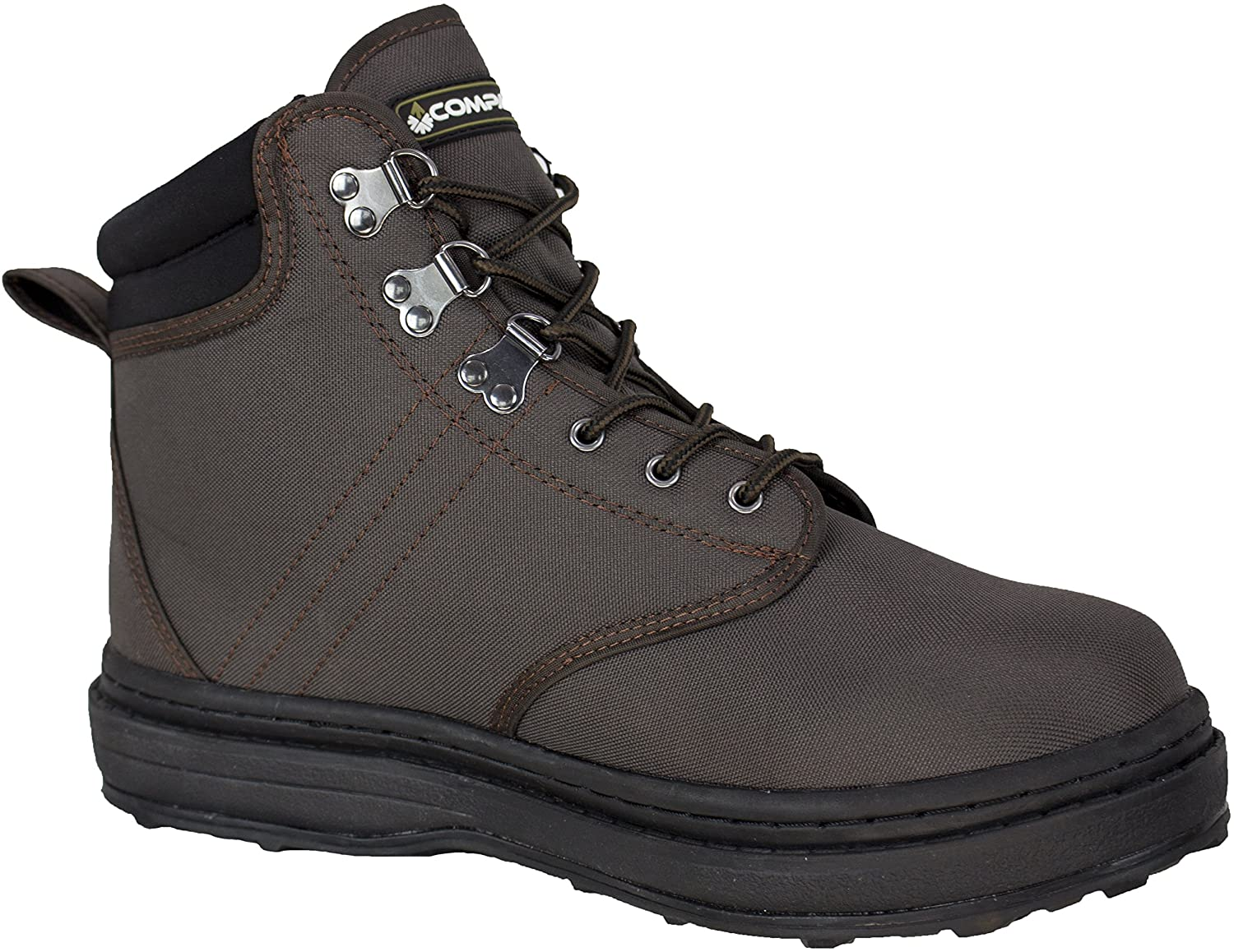 95481-PE Compass 360 Stillwater II Cleated Sole Wading Shoes, Size 8