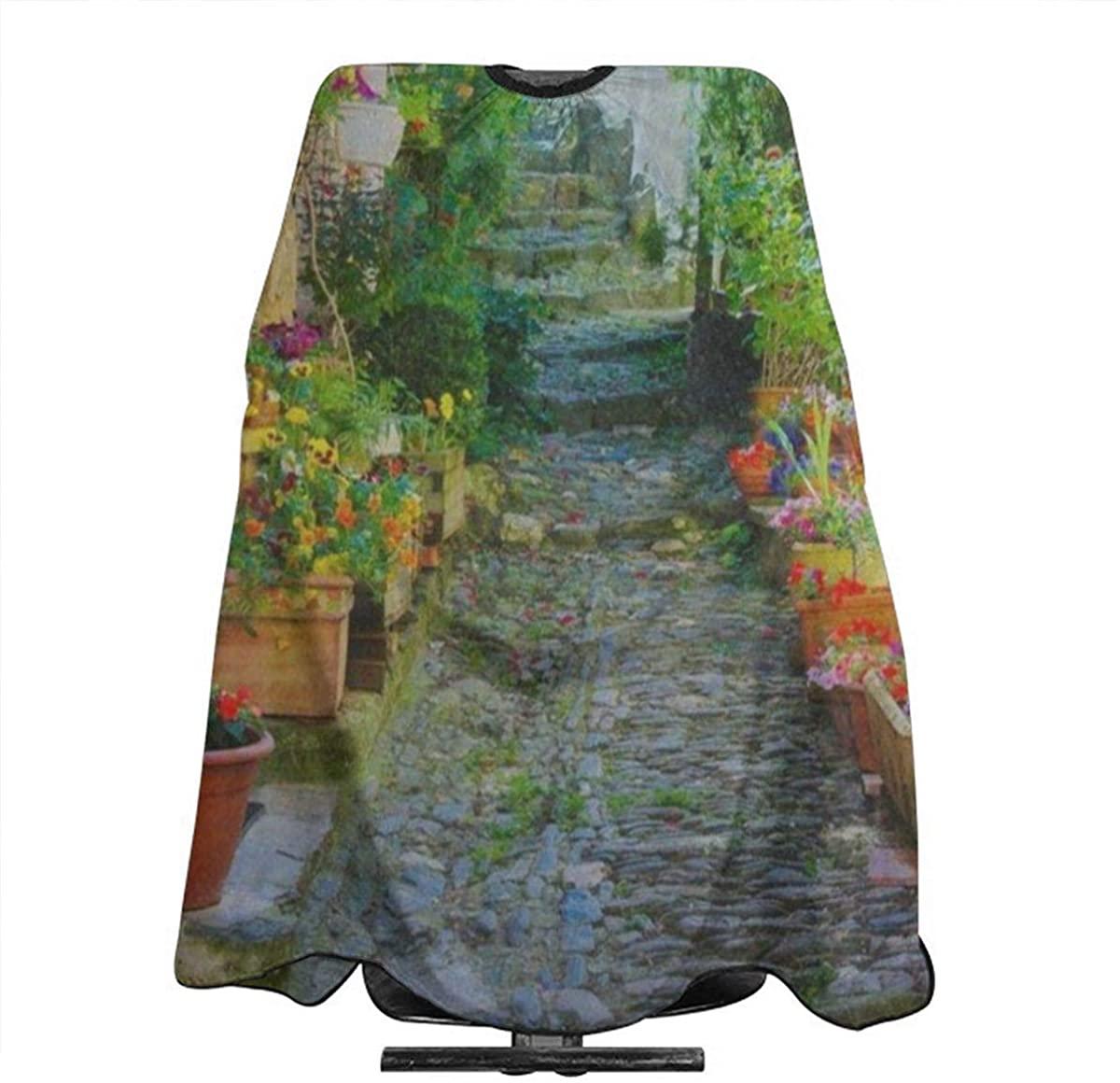 Professional salon shawl waterproof apron shawl haircut apron haircut shawl