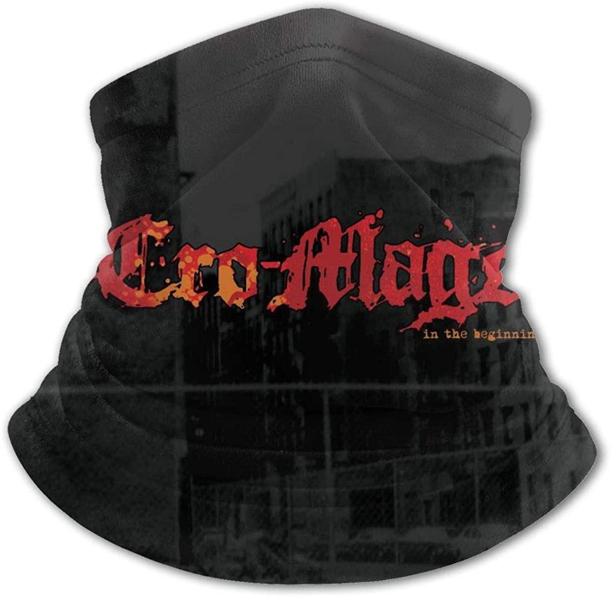 Cro-Mags Face Mask Balaclava Protection from Dust, Uv & Aerosols - Reusable Bandana Face Cover Black