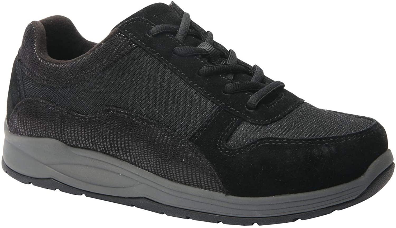 Drew Woman Tuscany 10555 Black/Combo Leather/Mesh 6.5 Medium (B) US