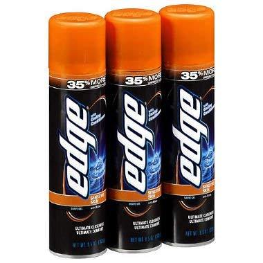Edge Advanced Shave Gel 9.5 oz, 3 pk. A1