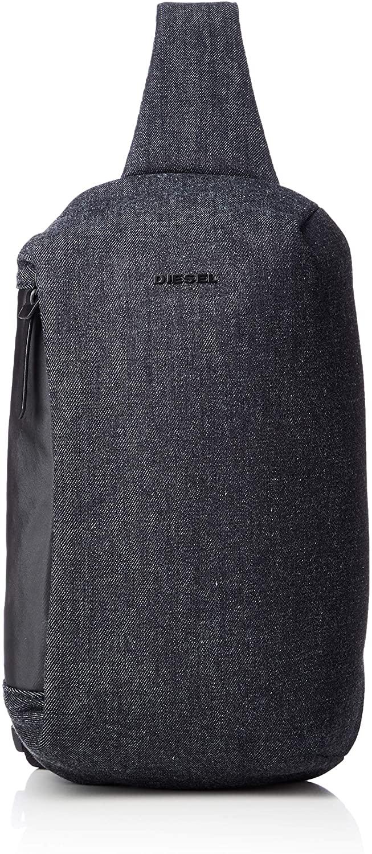 Diesel Men's D-SUBTORYAL Mono Backpack, Dark Denim/Black, UNI