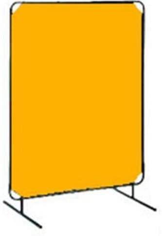 Tillman 6011088 8'X8' 14mil. 1 Panel Yellow Vinyl Welding Curtain with