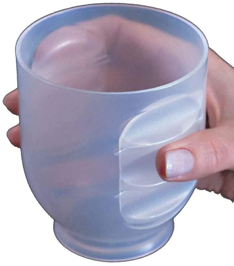 Marusya Inc's No-Slip Easy Grip Cup. 12oz. Set of 4.