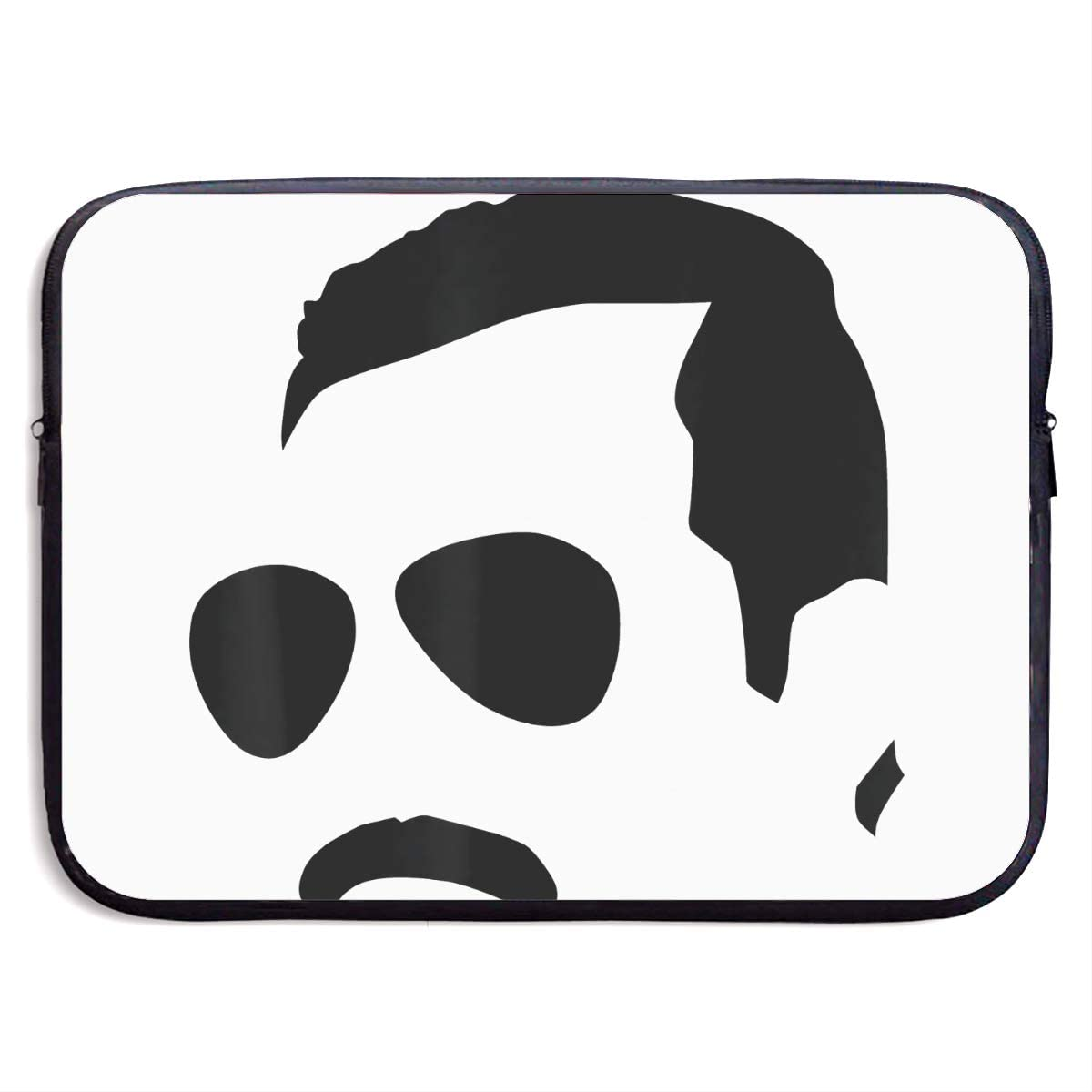 Laptop Sleeve Bag Freddie Mercury 13/15 Inch Notebook Computer, Vertical Style Water Repellent Polyester Protective Case Cover 15 Inch Theme Laptop Sleeve Bag