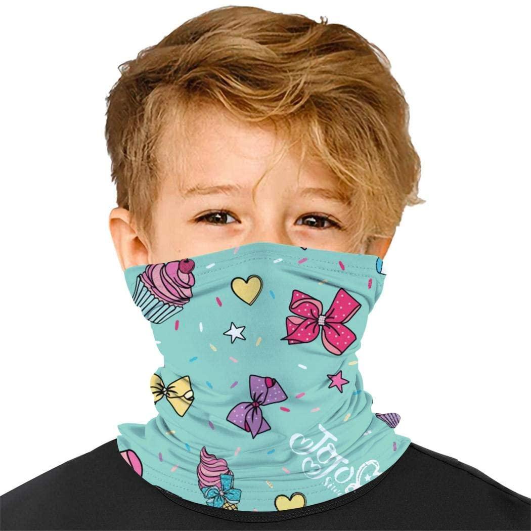 Ta-Ta Frog Little Unicorn Po-Ny Kids Balaclava Bandana Half Face Masks Neck Gaiter Outdoor