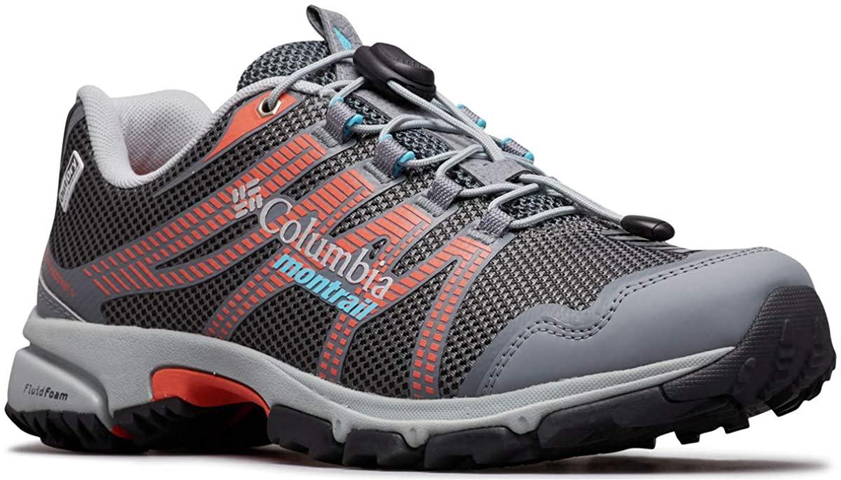 Columbia Women's Mountain Masochist IV Outdry Sneaker, Graphite, Riptide, 10.5 Regular US