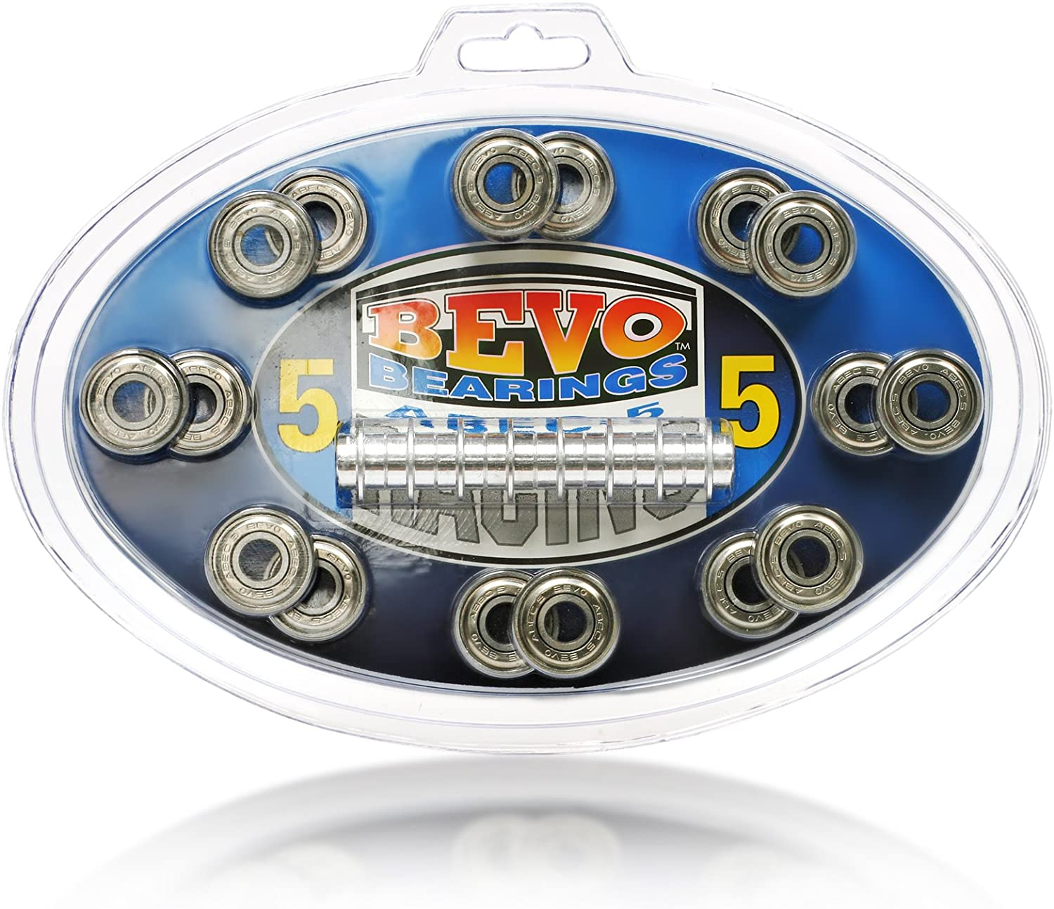 Tour Hockey Silver-5 Rated Bearings, 8mm