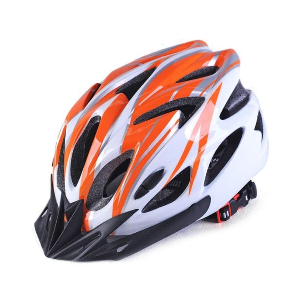 Vincent MTB Bicycle Helmet Cycling Hat Bike Caps Ultralight Road Mountain Breathable Head Protector M Orange
