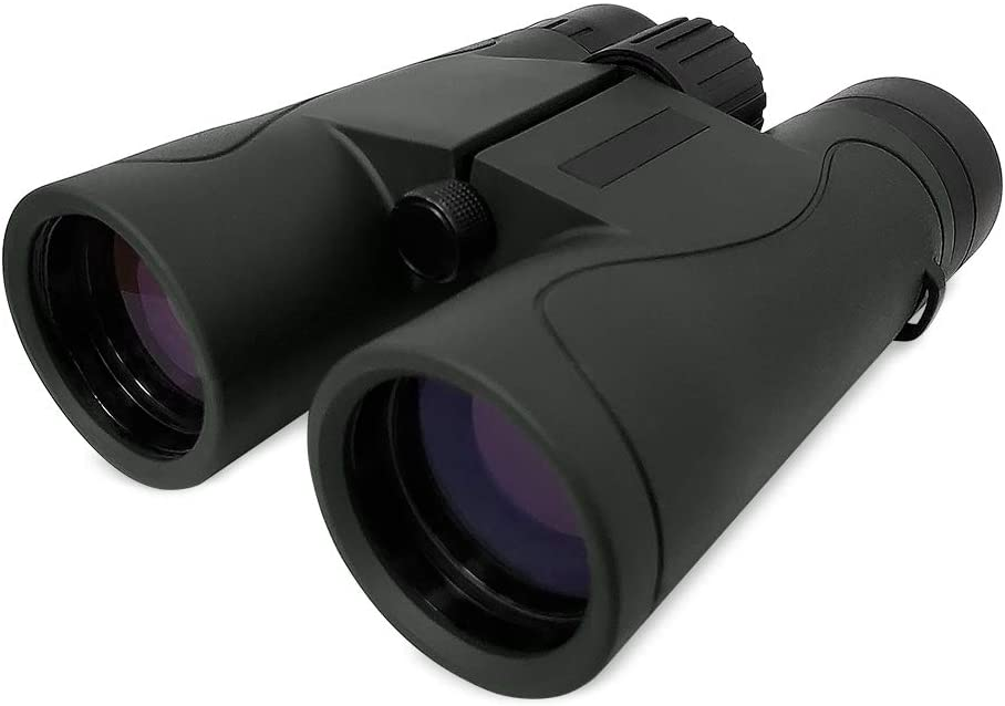 Adult BK4 Prism Binoculars, High-Definition Large-Magnification Compact, Waterproof Shockproof, Large Eyepieces, Bright and Clear Imaging, Suitable for Bird Watching, Travel, Sports Events(8x42