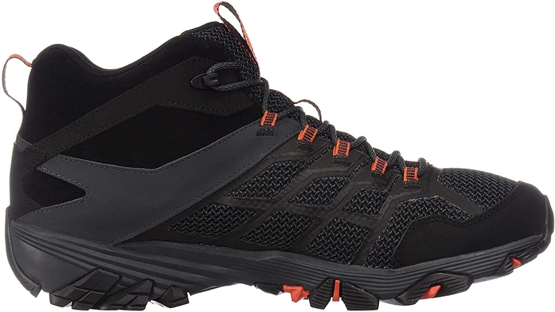 Merrell Mens Moab FST 2 Mid Wp Hiking Shoe