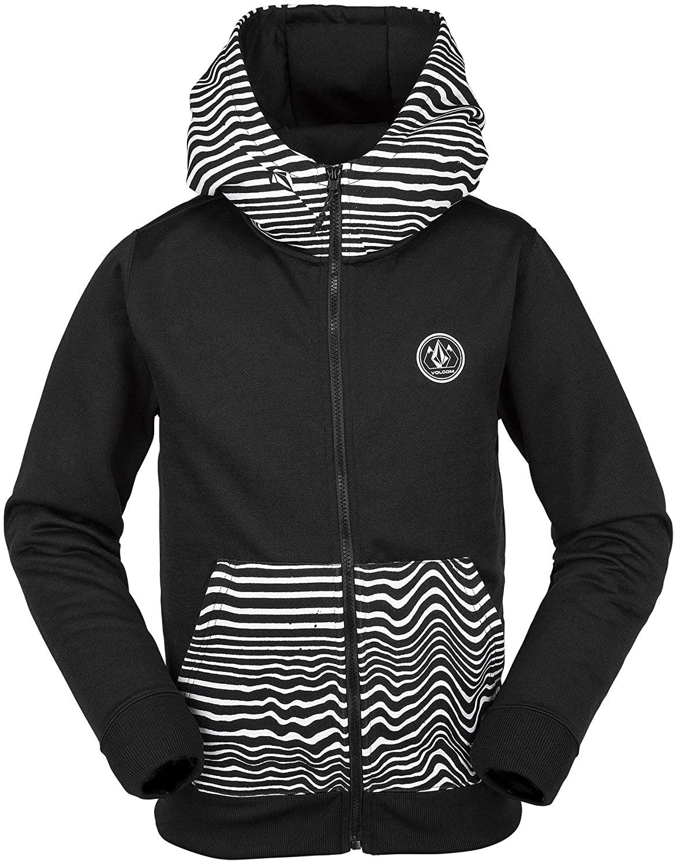 Volcom Girls Big Grohman 280g Hydrophobic Hooded Fleece Sweatshirt