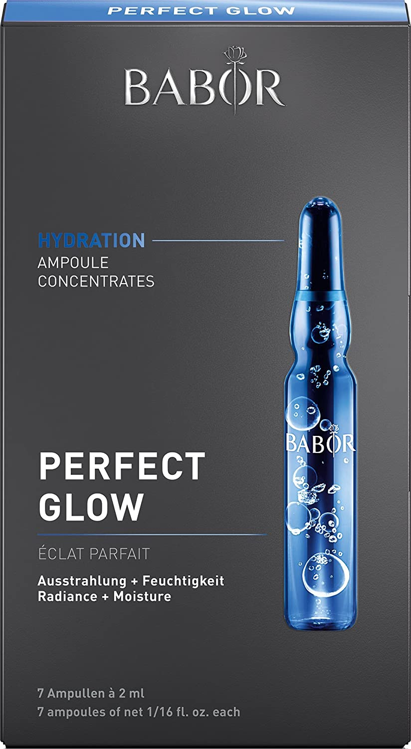Babor Perfect Glow Ampoule Concentrates, 7 Count