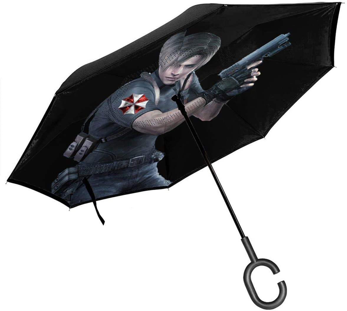 N/C Resident Evil Reverse Umbrella