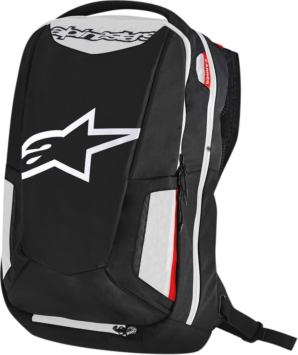 Alpinestars 3517-0403 Black/White/Red 25 Liter City Hunter Backpack