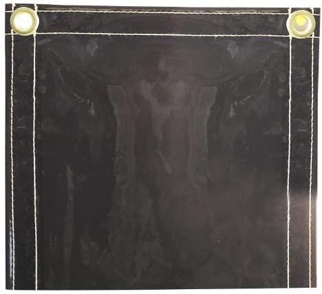 Tillman 600C68 6X8 14mil. Gray Vinyl Welding Curtain w/Grommets alon