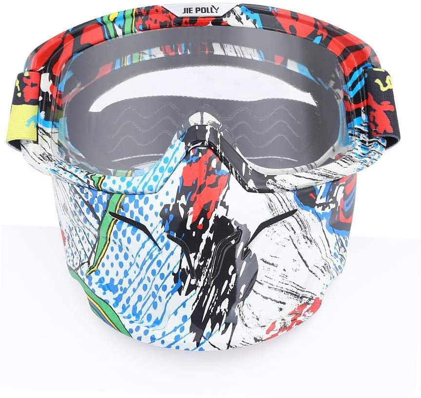 Home bathroom products Motocross Goggles, Motocross Goggles, Retro Goggles, Helmet Windproof, A03 Transparencies