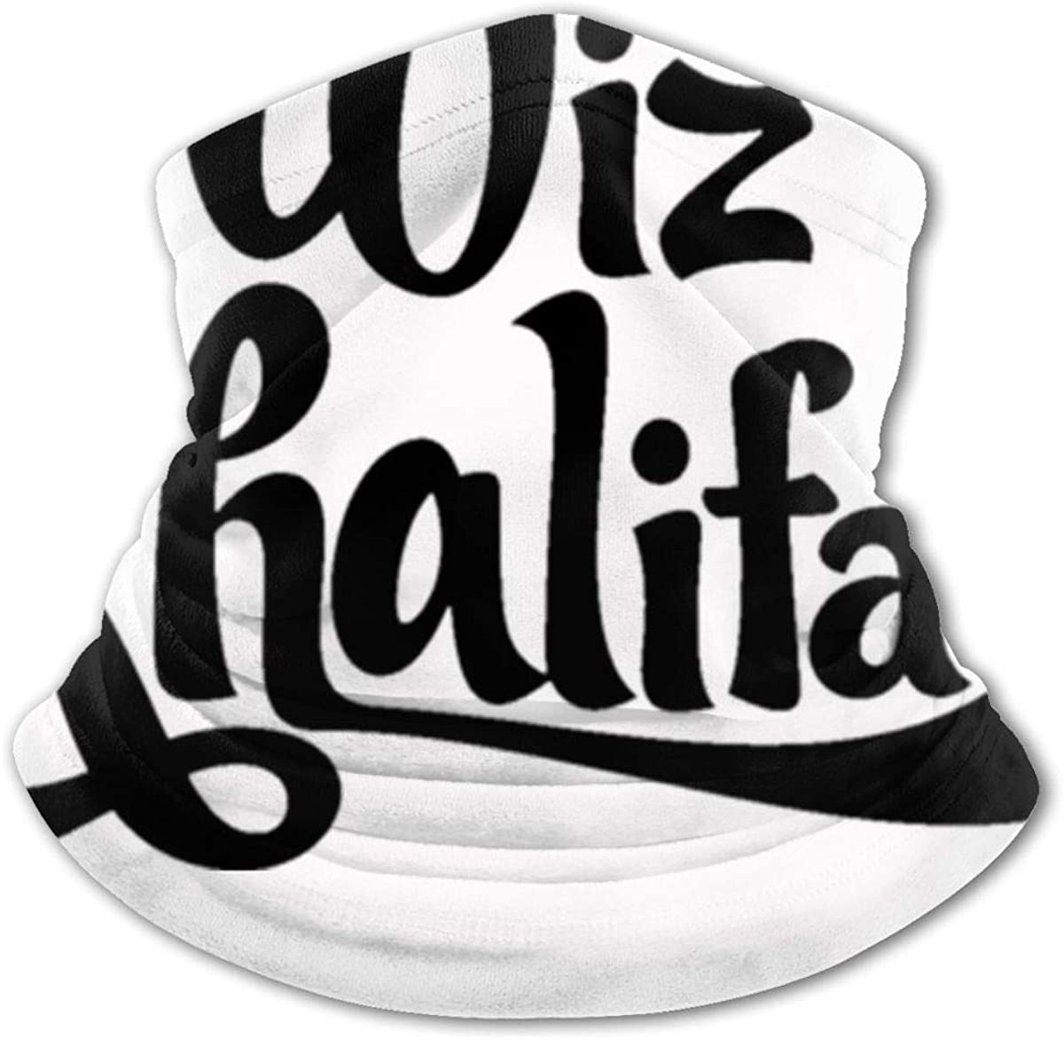 Cooling Neck Gaiters Face Cover for Boys Girls Outdoor - Scarf Wiz Khalifa Bandana Black