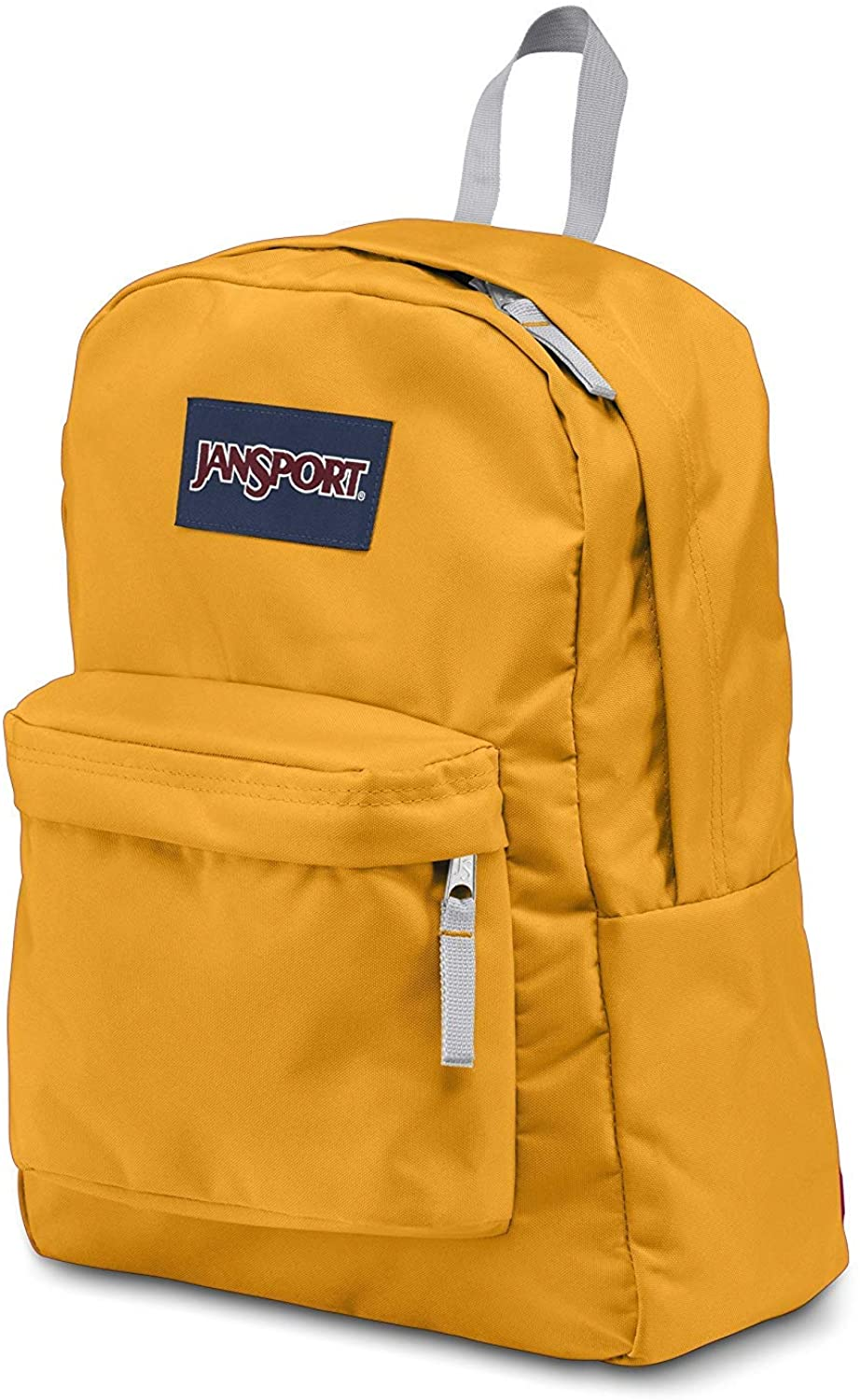 JanSport Classic SUPERBREAK BACKPACK Solid Color - Yellow Card