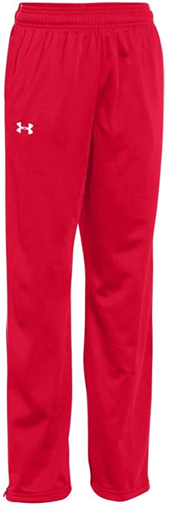 Under Armour UA Rival Knit Warm-Up Pants Youth X-Large Red